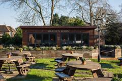 The Cricketers Garden Room