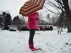(enowak30) Tags: snow cold umbrella photography vscocam