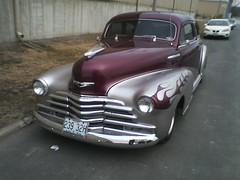 1948 Chevy Fleetline Aerosedan [1] (JeromeG111) Tags: auto 1948 chevrolet car automobile chevy fleetline cellphonecamera 2016 classicauto aerosedan