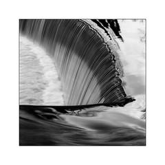 Water shapes (Kevin J Allan) Tags: water northumberland weir rivercoquet guyzance filmkodaktmax100 cameramamiyarz67 filmdeveloperfirstcall11522c5m30sjobo