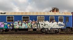 0465_2016_03_06_Duisburg_Hochfeld_NCS_970_0_004_Yp_155_5_100_Gbs_255_Gerätewagen_zu_997_2_901_Uaai_839 (ruhrpott.sprinter) Tags: railroad train germany logo deutschland diesel outdoor natur eisenbahn rail zug cargo passenger heavy fret duisburg ruhr ruhrgebiet freight locomotives metropole lokomotive 295 stadtwerke sprinter ruhrpott hochfeld hcs güter ncs 839 trafo lepper reisezug duisport cargoservice ellok uaai duisportrail buvl