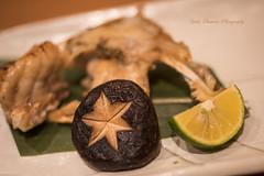Upscale food, the deep-fried puffer fish (yoko.wannwannmaru) Tags: food indoor japanesefood pufferfish deepfriedfood upscalefood nikond810 20160211dsc8561n japanesemashroom