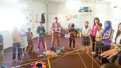 Art therapy at Arbat Refugee Camp (Jiyan Foundation) Tags: artherapy children arbat refugee camp therapy psychotherapy psychology war trauma displacement kunsttherapie kinder childtherapy silemani iraq irak jiyan foundation humanrights recovery healing art kurdistan