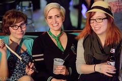 Day 124: Andrea, Jessica, Amy (allankcrain) Tags: amy jessica andrea cutegirls jessicajones heavyanchor sllaw stlouisladyarmwrestling