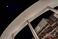 The Long Center (Ellen Yeates) Tags: sky usa moon building architecture night canon austin photography star concert texas theatre bass outdoor top performingarts scene pole co curve hdr halfmoon longcenter timeofday markiii1ds ellenyeates ellenyeatesphotography bulterpark