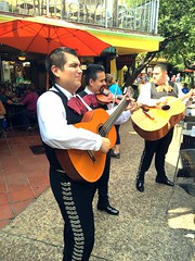 Riverwalk Mariachis, San Antonio (Gary Paul Smith) Tags: sanantonio riverwalk mariachis imagesbygarypaulsmith