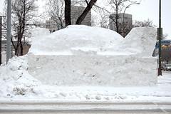 broadway @ main snow sculpture 2 - the work (Justin van Damme) Tags: winter sculpture white snow streets downtown winnipeg main broadway