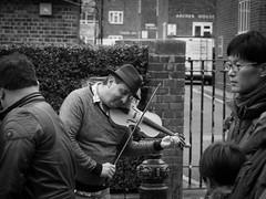 One with the violine (Patrik Lackermeier) Tags: street music london nottinghill violine