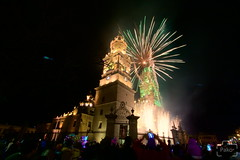 Catedral de Morelia (Plemus) Tags: catholic morelia cathedral fireworks michoacn semanasanta