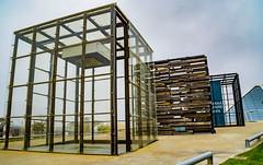 Cubos en la expo (.MiguelPU) Tags: españa color spain expo zaragoza cube 2008 cubo