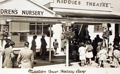 Middleton Tower Holiday Camp (trainsandstuff) Tags: vintage postcard holidaycamp middletontower