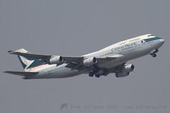 B-HUI B747-400 Cathay Pacific (JaffaPix +5 million views-thanks...) Tags: airplane hongkong aircraft aviation cx aeroplane airline boeing hkg 747 b747 747400 cathaypacific cpa b747400 cheplapkok b744 vhhh bhui jaffapix davejefferys jaffapixcom