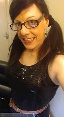 March 2016 (Girly Emily) Tags: crossdresser cd tv boytogirl mtf maletofemale tvchix tranny trans transvestite transsexual tgirl tgirls convincing dress feminine girly cute pretty sexy transgender glasses xdresser gurl