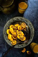 Bhakarwadi 1 (Whisk Affair) Tags: indian snack maharashtrian