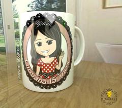 Caneca Giovana (_mirabole) Tags: lembrana foto com caneca presente criativo personalizado personalizada canecaspersonalizadas