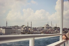 Istanbul (Kiran Zia) Tags: sea sunlight water turkey daylight view islam culture istanbul