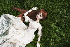 Layla - Baby's Tears 2 (radioactive alchemist) Tags: flowers garden spring doll bjd layla celeste mirodollwind