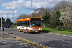 IMGP0085 (Steve Guess) Tags: uk england bus museum pointer surrey gb cobham dennis dart weybridge brooklands plaxton byfleet cardifd