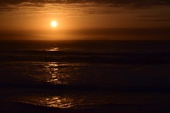 Donegal sunset (skippyjon2010) Tags: ocean ireland sunset sea surf waves n atlantic donegal portrush antrim donegl wildatlanticway