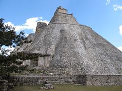"Uxmal: la Pyramide du Magicien <a style=""margin-left:10px; font-size:0.8em;"" href=""http://www.flickr.com/photos/127723101@N04/25948128805/"" target=""_blank"">@flickr</a>"