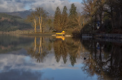 The Boat House (J McSporran) Tags: reflections landscape scotland boathouse benlomond trossachs lochard altskeith