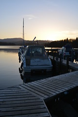 La Fable White Cross Bay (Gon4Lunch) Tags: sunset white lake bay la boat cross district cumbria windermere fable