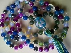535318_1627142850935421_8111762379817759841_n (innerjewelz@rogers.com) Tags: handmade traditional jewelry jewellery meditation custom mala 108 mantra intention knotted japamala innerjewelz