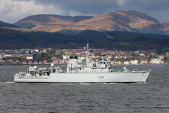 HMS Hurworth M31 (corax71) Tags: uk point scotland boat marine mine ship force exercise britain military united great transport navy royal kingdom vessel class m31 maritime transportation gb warrior hunter shipping naval gourock joint nato forces hunt 161 minesweeper rn armed hms sweeper inverclyde cloch cattistock countermeasures minehunter huntclass jw161