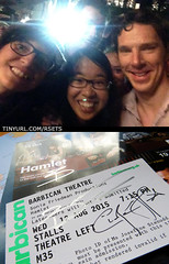20150811&14 Me, miss G, Benedict Cumberbatch, his siggy, & siggy of Ciarn Hinds :D | The Barbican Centre, London, England (ratexla) Tags: life city uk greatbritain travel b summer vacation england people urban favorite holiday man men guy travelling celebrity london stars person star town diptych europe theatre unitedkingdom earth famous culture shakespeare ticket guys dude barbican entertainment human autograph journey moviestar celebrities celebs traveling dudes celeb epic fangirl hamlet siggy stad humans semester selfie tellus homosapiens organism 2015 moviestars barbicancentre selfies fuckingcool thebarbicancentre benedictcumberbatch europaeuropean iphone5 almostanything unlimitedphotos ciarnhinds photophotospicturepicturesimageimagesfotofotonbildbilder resaresor canonpowershotsx50hs cumbercookie 11aug2015 14aug2015 ratexlashamlettrip2015