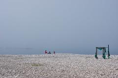 It is misty     (constantiner) Tags: travel mist beach fog bar europe outdoor streetphoto daytime balkans adriatic montenegro balkan mediterian  travelphotography      travelphotos  travelphoto  travelpics