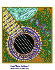 Guitar sc1aF (FolsomNatural) Tags: art adult photoediting coloring coloringbook fillin