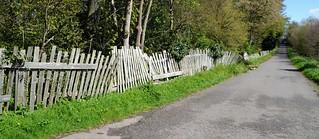 Lilford, Falling Down Fence.