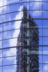 mirage bleu (jepag0) Tags: blue glass bleu reflet curved faade verre reflects clermontferrand courbe hight hauteur