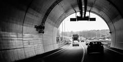 Tunnel Vision (Aazmatazz) Tags: driving tunnel lightanddark