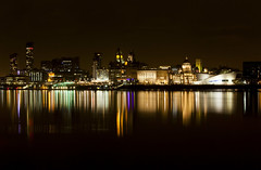 Liverpool Cityscape (David Chennell - DavidC.Photography) Tags: reflection liverpool cityscape pierhead merseyside