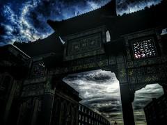 Liverpool China Town (V.R.V) Tags: china uk inglaterra england art liverpool photography town photo europa europe foto arte apocalypse fotografia hdr portico reino unido selfie snapseed zenfone