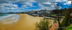 Primera playa del Sardinero, Santander. (Airbeluga) Tags: panorama espaa paisajes naturaleza olas santander cantabria marcantbrico piquio