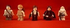 Star Wars figbarf #1 (nadaworkshop) Tags: star 1 lego luke darth captain rey sw anakin wars vader rex hansolo skywalker dagobah