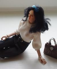 Aya's spring look 1 (HyperLaceAlchemists) Tags: girl asian doll super figure seamless flexible phicen