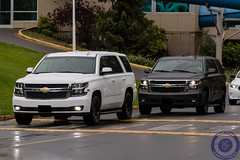 RCMP Unmarked 2015 Chevrolet Tahoes (West Coast Emergency Photography) Tags: canada bc britishcolumbia victoria vancouverisland rcmp unmarked royalcanadianmountedpolice colwood trafficservices nleaf 2015chevrolettahoe