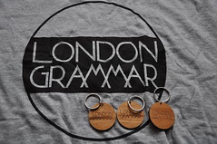 T-shirt and keyhanger from London Grammar.com (Vinylone AFS + NO trades) Tags: from music london fan tshirt can be such grammar keyhanger i