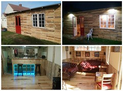 How I Made My Shed from 140 Pallets (irecyclart) Tags: bar garden cabin shed recyclingwoodpallets