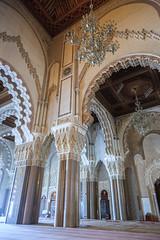 Interior Mezquita Hassan II (Pablo Rodriguez M) Tags: mosque morocco maroc mezquita casablanca marruecos mosque hassanii
