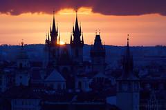 Sony A7 MII + Canon EF 200/2 L IS (viktor_viktor) Tags: morning blue orange church dark dawn spring cityscape purple prague oldtowers canonef2002lis metabonesiv sonya7mii wwwverybiglobocom canonef2002 priguecitiview