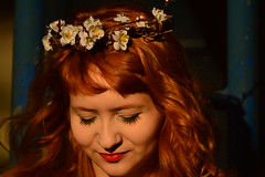 ruive sunset sunday (Leticia Manosso) Tags: portrait cute girl tangerine angel hair sweet redhead curitiba carol dreamy ruiva brazik ruive
