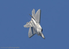 F-22 Raptor Demo (JetImagesOnline) Tags: demo team fighter martin over jet airshow raptor stealth f22 roads hampton lockheed airpower