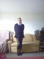 Hermione's new schoolgirl pic (with ponytail) (hermionesimpson) Tags: blue school white black silver shoes uniform cd tie tights skirt crossdressing blouse tgirl transgender schoolgirl transexual crossdresser crossdress ts schooluniform tg blackshoes schoolgirluniform blackskirt crossdressed whiteblouse blacktights blackjumper blueandsilver transfemale transwoman blackschoolshoes blueandsilvertie whiteschoolblouse whiteschoolgirlblouse blueandsilverschoolgirltie blackschoolgirlskirt blackschoolgirlshoes blackschooljumper blueandsilverschooltie blackschoolgirljumper blackschoolgirltights