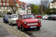 Trabant (ingrid eulenfan) Tags: auto leipzig trabant fahrzeug kleinwagen