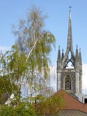 St Mary's Church, Faversham, Kent, England (PaChambers) Tags: uk england church st parish port town kent spring europe market britain south great historic east marys april cinque faversham 2016
