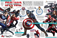 Capitn Amrica: Civil War (EsdrasJaimes-potfolio) Tags: man black america movie iron comic steve spiderman captain falcon pelicula rogers marvel widow panther crossbones jaimes agente editorialdesign esdras esdrasjaimes esdrasjaimesartistagrfico